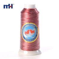 Hilo de border de rayon 120D/2,multicolor