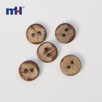 Botón de madera